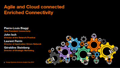 Agile and Cloud connected  Enriched Connectivity