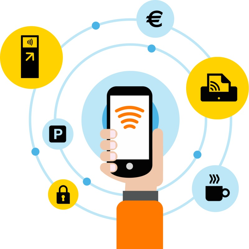 Pack ID solution mobile sans contact d'Orange Business Services pour digitaliser vos cartes et badges dans les smartphones Android et iOS des utilisateurs