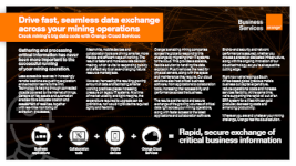Drive fast, seamless data exchange across your mining operations