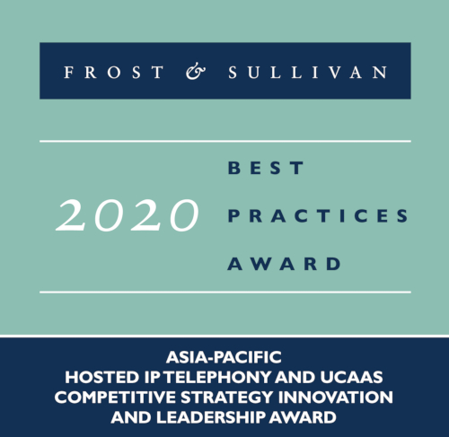 Asia-Pacific Hosted IP Telephony and UCaaS Competitive Strategy Innovation and Leadership Award