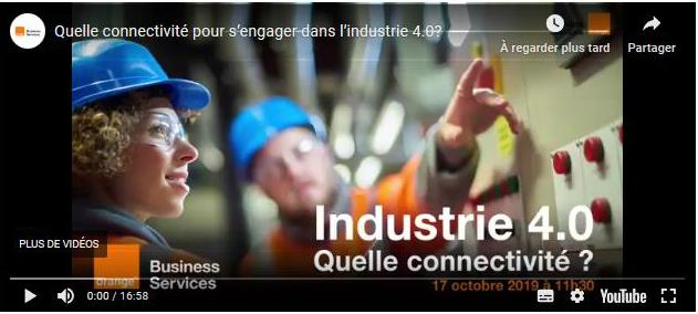 Les nouveaux réseaux et la 5G pour l'industrie 4.0