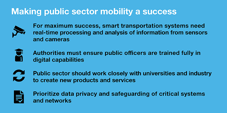Making public sector mobility a success