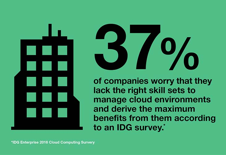 37% of companies worry they lack the right skill sets