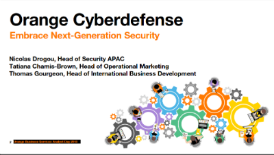 Orange Cyberdefense Embrace Next-Generation Security