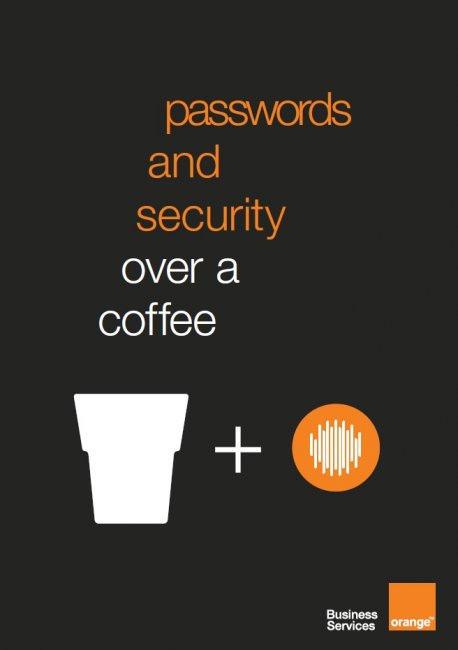 passwords and security over a coffee