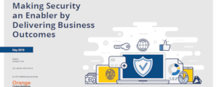 Making security an enabler by delivering business outcomes