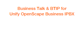 Configuration guideline to connect Unify OpenScape Business to Business Talk SIP Trunking