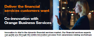 Deliver the financial services customers want