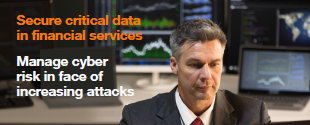 Secure critical data in financial services