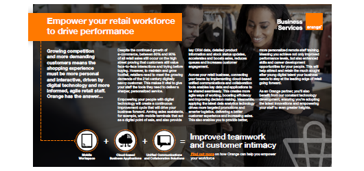 Empower your retail workforce to drive performance