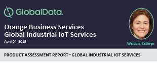 GlobalData Global IoT Services Report - April 2019