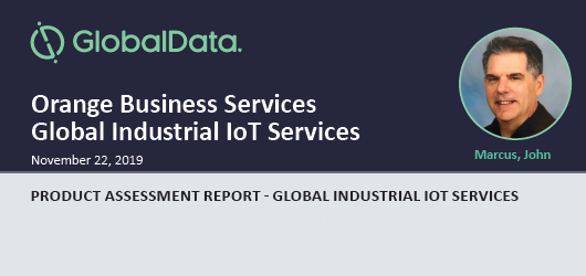 "Orange Business Services is rated ""Very Strong"" in GlobalData ""Product Assessment Report - Global Industrial IoT Services"""