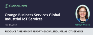 Orange Business Services Global Industrial IoT Services