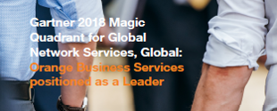 Gartner Magic Quadrant for Network Services Global, 2018