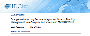 Multisourcing Service Integration Aims to Simplify  Management in a Complex Multicloud and SD -WAN World