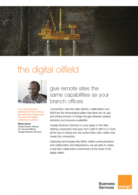 The Digital Oilfield