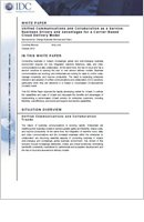 White Papers : Unified Communications and Collaboration as a Service