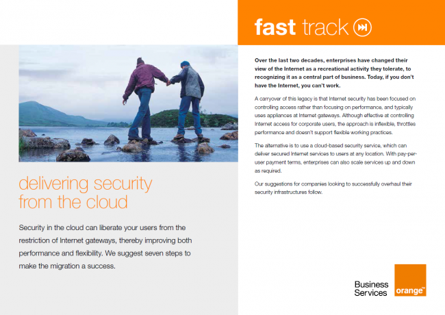 Delivering Security from the Cloud