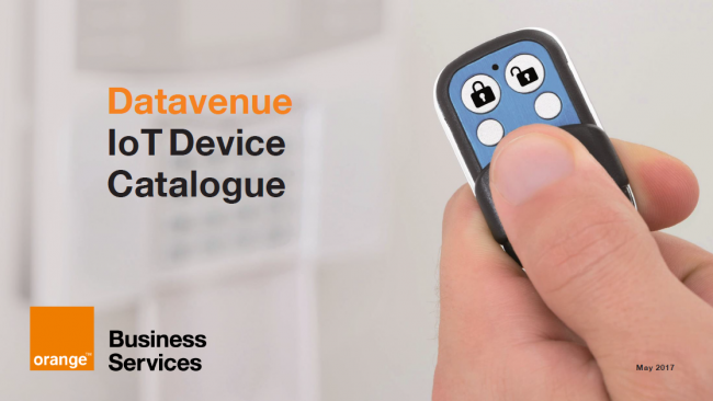 Datavenue IoT Device Catalogue