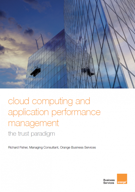 Cloud Computing and Application Performance Management: The Trust Paradigm