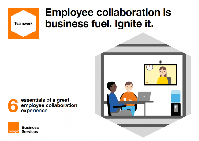 Employee collaboration is business fuel. Ignite it.