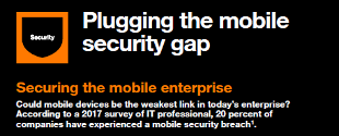 Plugging the mobile security gap