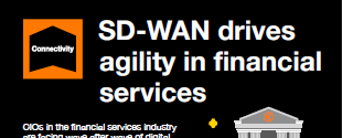 SD-WAN drives agility in financial services
