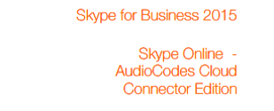 Connect Microsoft Skype for Business & Lync to Business Talk SIP Trunking