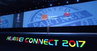 Huawei Connect 2017 : keynote de Thierry Bonhomme, CEO Orange Business Services