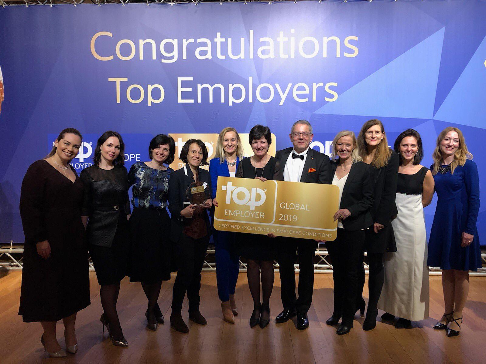Orange Group has once again been named Top Employer Global