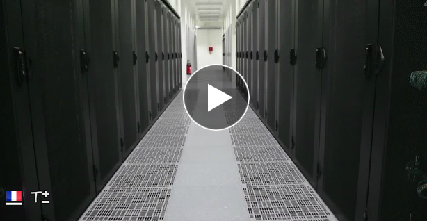 visite guidée du datacenter « Normandie » en video
